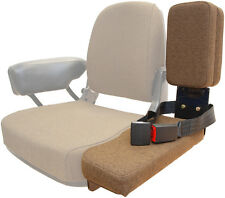 Side Kick Buddy Seat Brown Fabric for John Deere 2550 4430 4440 9600 ++ Tractors
