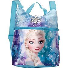 Disney Frozen Queen Elsa Girls Kids Mini Backpack Purse Shoulder Bag Aqua 3