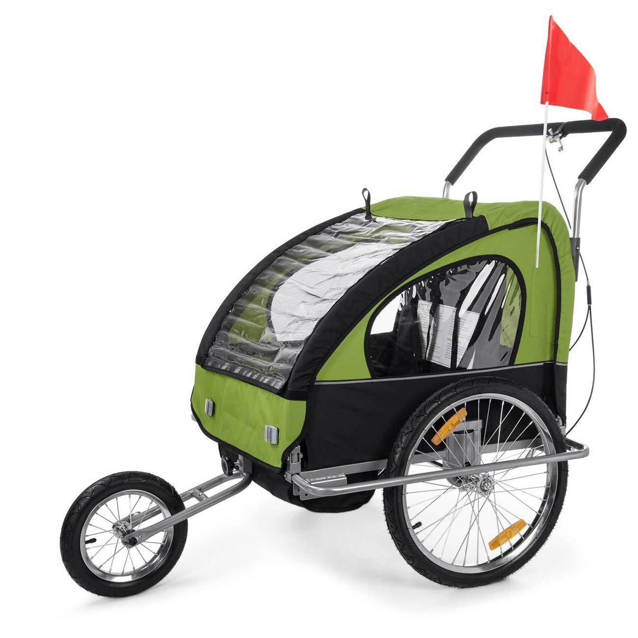 Jogger Fahrradanhänger Fahrradanhänger Jogger 2in1 Kinderanhänger Fahrrad Anhänger Transport SAMAX e21117