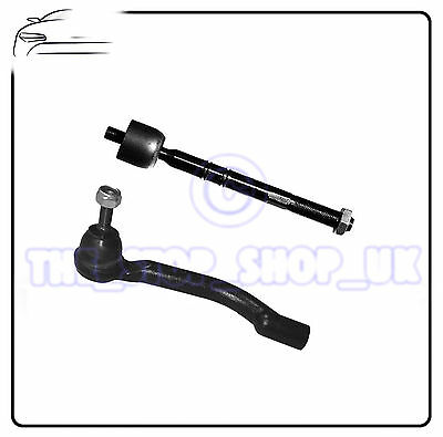 steering rack track rod Citroen C4 Right Inner /& Outer Tie Rod Ends