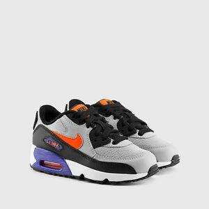Details about Nike Air Max 90 Mesh Wolf GreyTotal Crimson Dark Purple (GS)sz12.5c