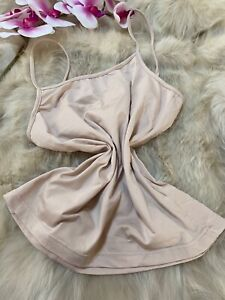 Map-beige-Camisole-Top-sleepwear-nightwear-size-it5-us38-eu85