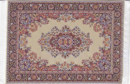 casa de muñecas en miniatura decoración suelos alfombra Mat Alfombra Patrón Grande 2