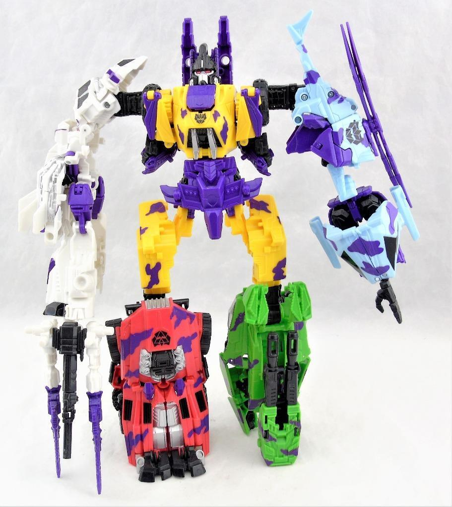 Transformers Generations Fall Of Cybertron FOC G2 Farbe Bruticus Complete