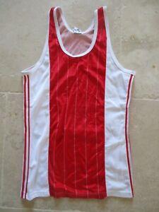 Debardeur-Maillot-ADIDAS-vintage-VENTEX-80-039-S-made-in-FRANCE-nylon-shirt-trikot-S