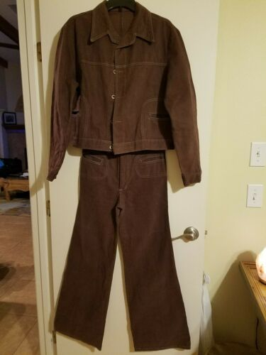 Vintage men's  leisure suit 1970's