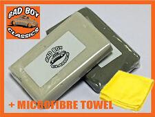 Clay Bar Kit For Car Pre Wax Polish Detailer Treatment Inc Microfibre Cloth
