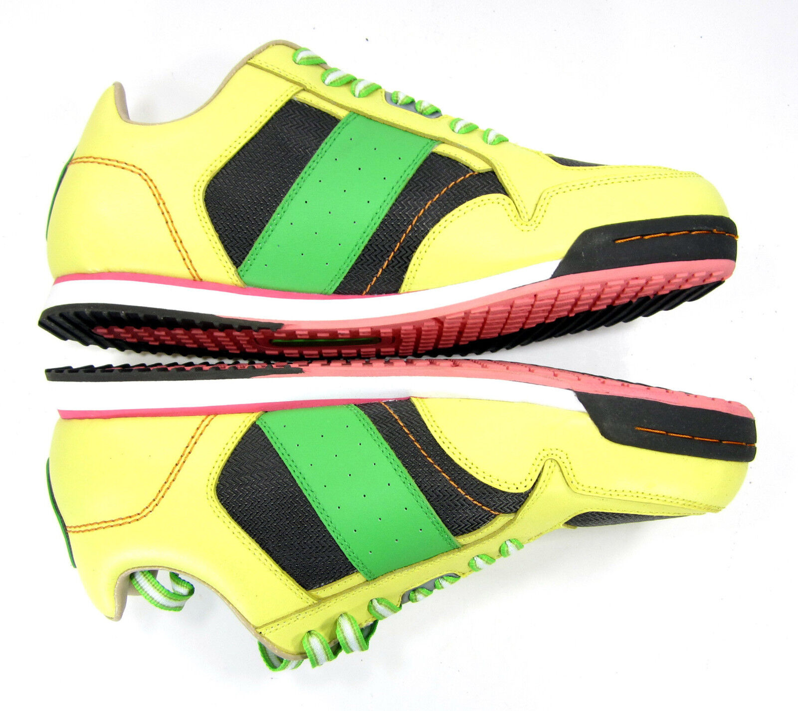 Ceaser Lunix Shoes Runner CLX Runner Shoes SP Yellow/Green  Size 13 abbe82