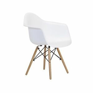 Image Is Loading Dining Room Kitchen Side Chair In White Seat