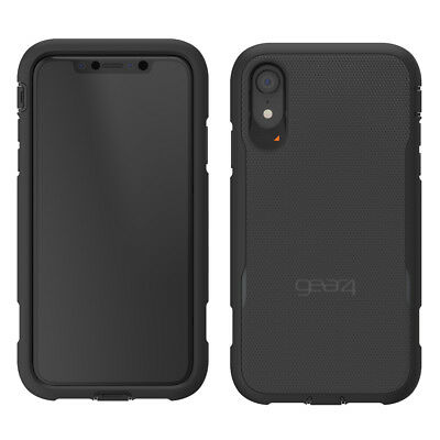 hot sale online 5b1c9 b25d0 Gear4 Platoon Extreme Impact Protection Case for iPhone XR with D30 - Black  4895200205678 | eBay
