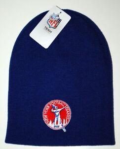 36aaba16b14 New York Giants NFL Team Apparel Retro Logo Cuffless Knit Winter Hat ...