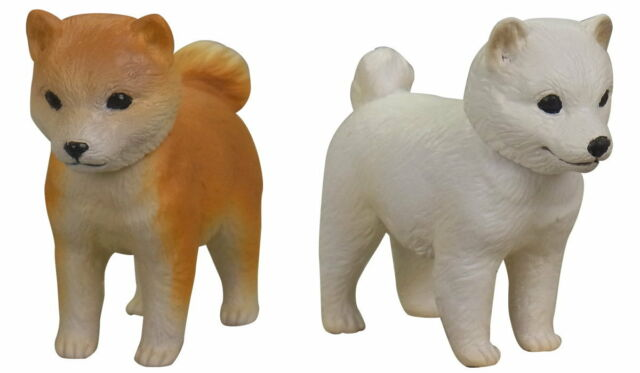 Takara Tomy Tomica Capsule Ania mini Animal model Part2 Shiba inu Dog Figure