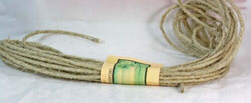 Crafts 8MM Macrame  4-6 100/% GENUINE HEMP ROPE Soft  Natural Eu hemp Rope