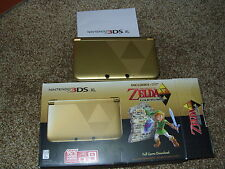 NINTENDO 3DS XL GOLD (Limited Edition) Legend of Zelda: Link Between Worlds