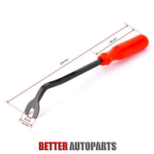418 Clip /& Tool Trim Panel Bumper Fender Retainer Assortment Fix Kit For Honda