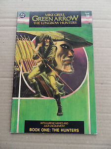 Green-Arrow-the-Longbow-Hunters-1-Mike-Grell-1st-Print-DC-1987-FN-VF