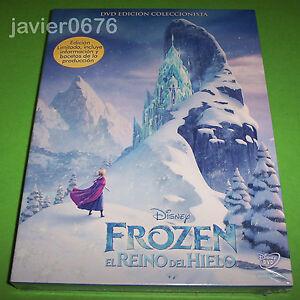 FROZEN-EL-REINO-DEL-HIELO-DISNEY-DVD-NUEVO-Y-PRECINTADO-EDICION-COLECCIONISTA
