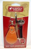 Scientific Anglers Vest Pack Fishing Tools Retractor Forceps Nipper Straightener