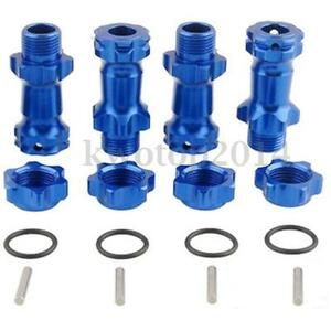 1-8-30mm-Blue-Aluminum-Alloy-Wheel-Hex-Hub-Adapter-Extension-17mm-For-1-8-RC-Car