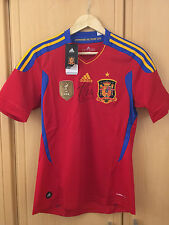 Signed Xabi Alonso Spain Fifa World Champions 2010 Shirt. Private Signing.