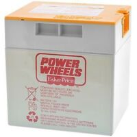 Power Wheels J4394 Blue Jeep Hurricane Replacement 12v Rechargeable Battery