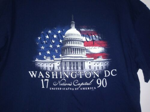 Mens XL T SHIRT Washington DC USA CAPITOL Buildin… - image 1