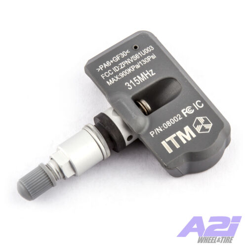 1 TPMS Tire Pressure Sensor 315Mhz Metal for 2007 Hyundai Santa Fe
