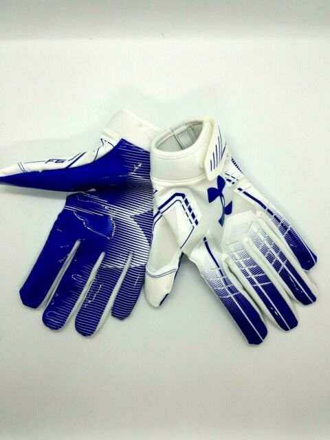 Under Armour F6 Glue Grip Football Gloves Men/'s Sz MD for sale online