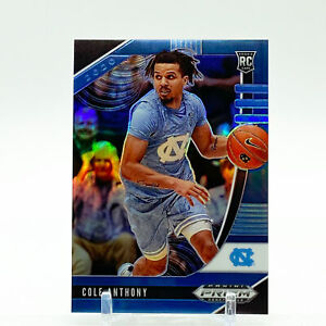 2020-21 Panini Prizm Draft Picks Basketball Blue Cole Anthony /199 RC SP Magic