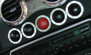 Audi TT 8N RS Coupé Roadster quattro Dekoreinlage Schalter Sitzheizung Zierring