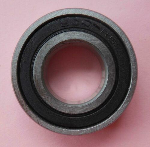 2pcs 6708-2RS 6708RS Rubber Sealed Ball Bearing 40 x 50 x 6mm