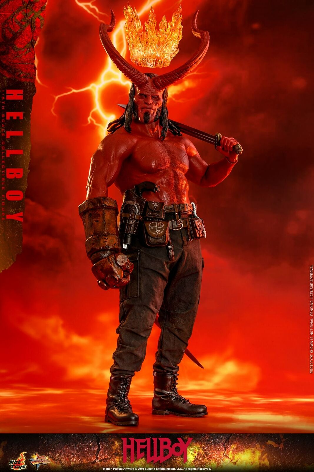 Hot Toys Hellboy 1 6th scale Hellboy Collectible Collectible Collectible Figure MMS527 44cd54