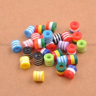 Wholesale Mixed ZEBRA /& STRIPE ACRYLIC Cylinder Mixed