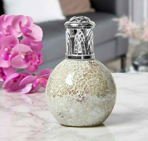 Details about  /Leonardo Fragrance Oil Aroma Purifier Mosaic Crackled Lamp Gift Boxed