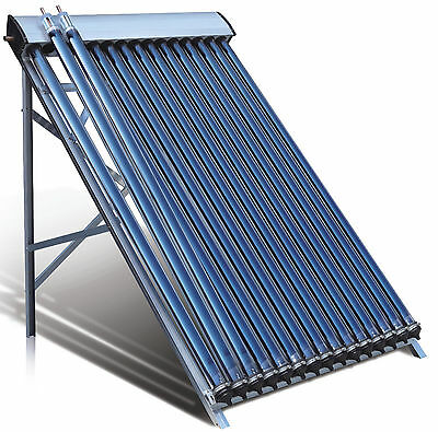 Duda Solar Water Heater Collector SRCC Evacuated Energy Split Panel Hot Thermal