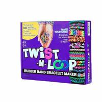 Twist-n-loop Rubber Band Bracelet Maker Craft Kit For Kids