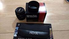 Sigma EX DG Macro 50mm f/2.8 AF Lens For Canon with Hoya filter kit/bundle