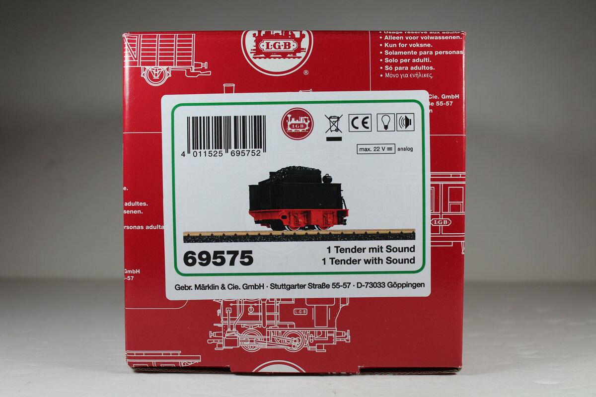 LGB 69575 tender con sonido, sólo para funcionamiento analógico, productos nuevos.