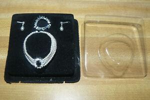 Franklin Mint Faux Crystal Tiara For Princess Diana Vinyl 16 Inch Diana Doll