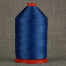 STRONG 60s BONDED NYLON 1,000mtr SPOOL SEWING THREAD ROYAL BLUE LEATHER CRAFTS