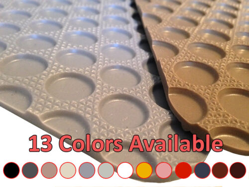 1st Row Rubber Floor Mat for Tesla Roadster #R8688 *13 Colors