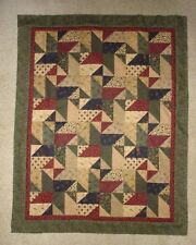 Pioneer Scrappy Stars Wall Hanging TABLE TOPPER Quilt Pattern-INSTRUCTIONS ONLY