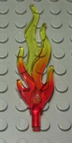 Lego Feuer Flamme Glas Transparent Rot Gelb 480 #