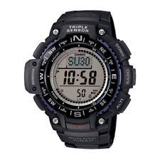 Casio Men's  Triple Sensor 100 Meter Digital Quartz Black Watch SGW1000-1A