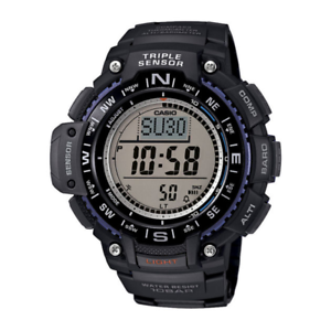 Casio-Men-039-s-Triple-Sensor-100-Meter-Digital-Quartz-Black-Watch-SGW1000-1A