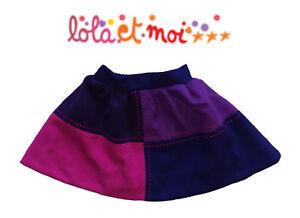 LOLA-ET-MOI-PROMO-70-Jupe-patchwork-Preppy-and-Chic-50-laine-Neuve