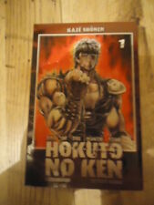 Hokuto No Ken - Tome 1  Buronson KAZE MANGA SHONEN SEINEN PROMOTIONNEL