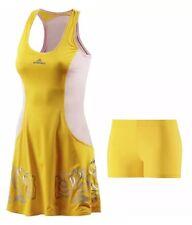 ADIDAS BY STELLA MCCARTNEY DRESS TENNIS YELLOW/ PINK DRESS SIZE 12 UK BNWT