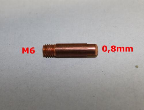 Metabo  Vernickelt M8  Elektra Beckum Stromdüsen M6