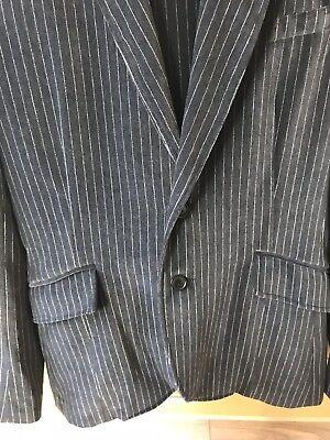 ** Vendita ** Kenzo Homme Pin Stripe Autentico Navy Completo Tuta-mostra Il Titolo Originale